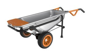 The WORX Aerocart Multifunction Wheelbarrow Dolly and Cart